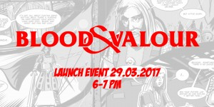 Blood and Valour launch event banner