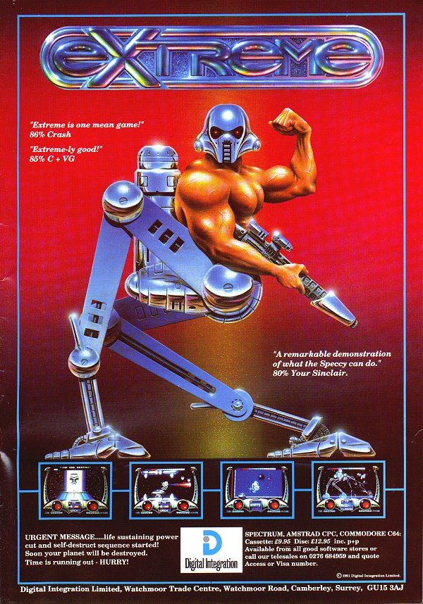 Extreme by Digital Intergration 1991