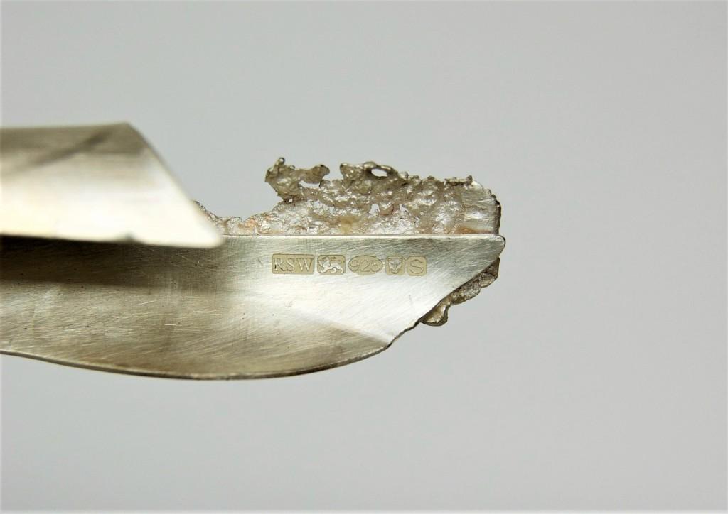 Ashurst in Silver II, details (2018) 210mm - Copy